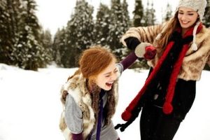 friends laughing in snow_winter white fur red black tan_sarah rhoads blog mar10